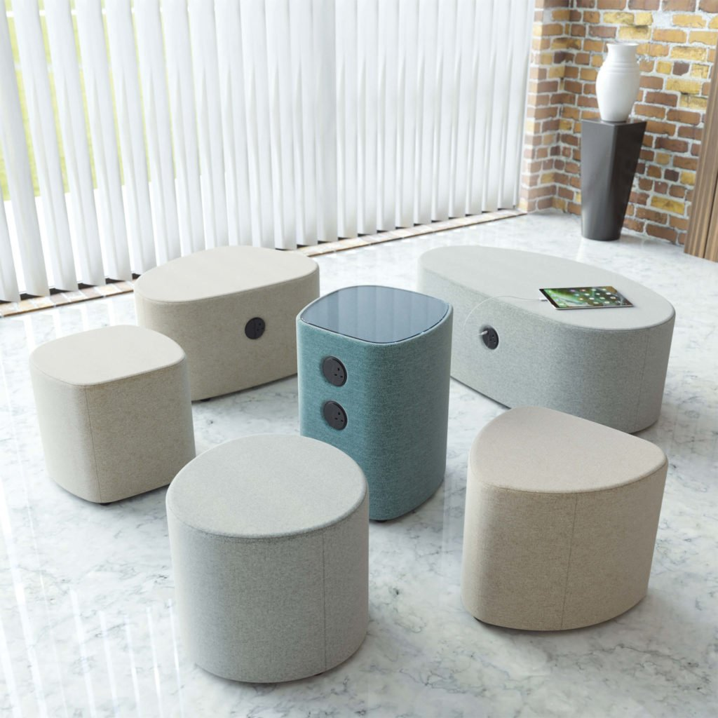 SmartRocks Soft Seating Range