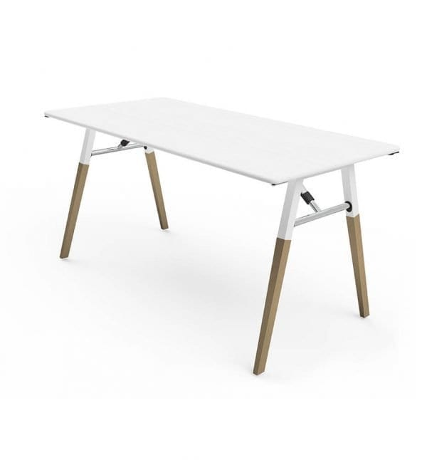 White A Fold table