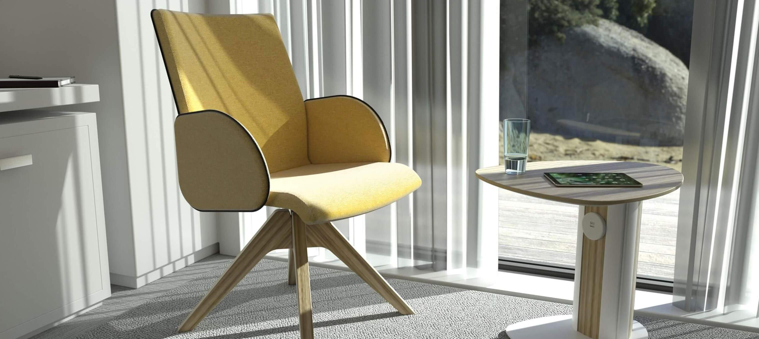 Casuelle Chair Bedroom