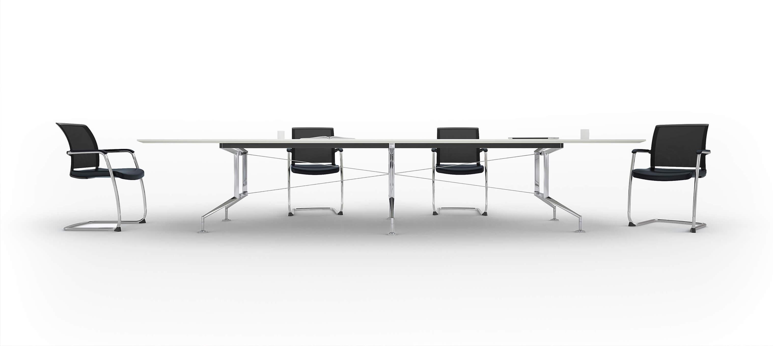 Forum Board Room Chairs White Hero