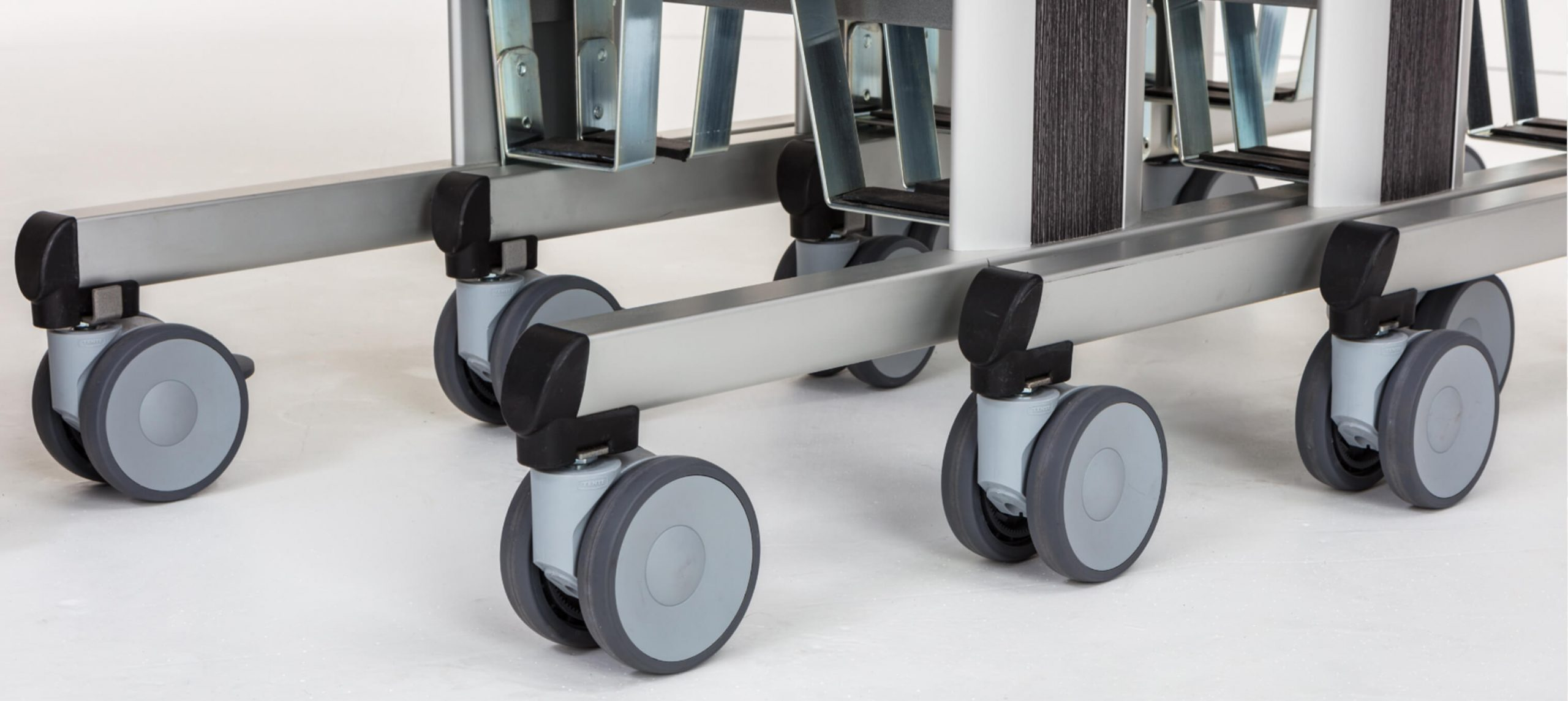 Room Service Trolley Zoom of Wheels