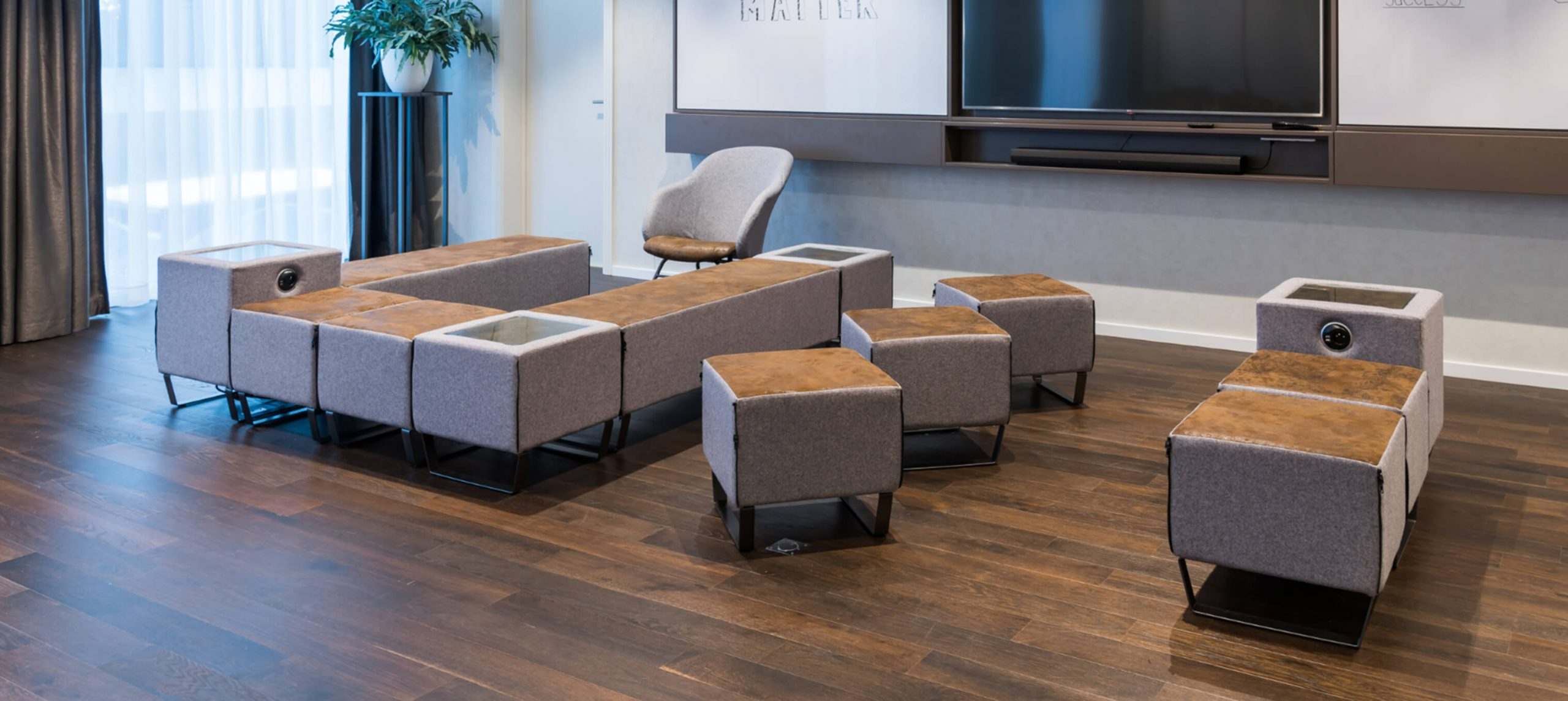 Smart Qube Soft Seating Range