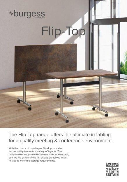 DIGITAL Flip Top Table Brochure