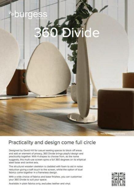 360 divide brochure image