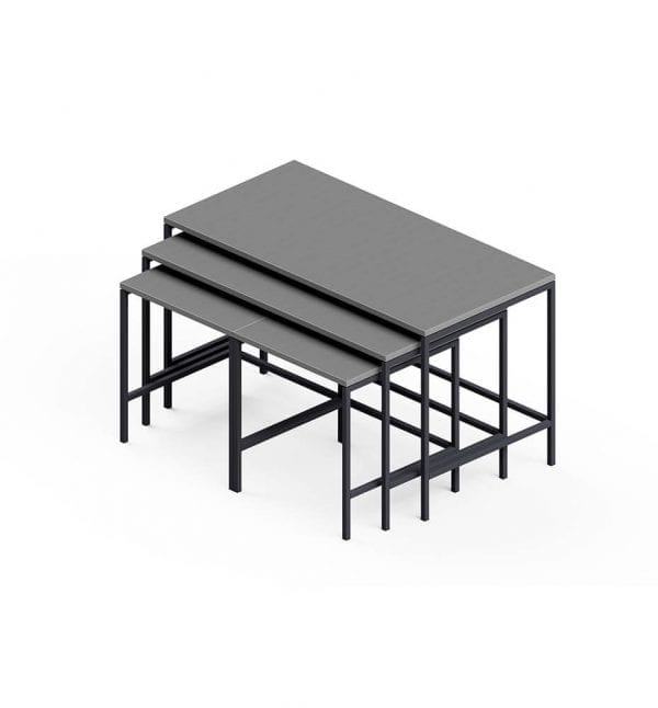 nestr tables mixed stepped