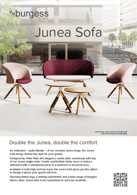 junea sofa brochure image