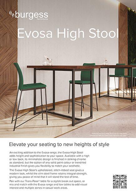 Evosa High Stool Brochure