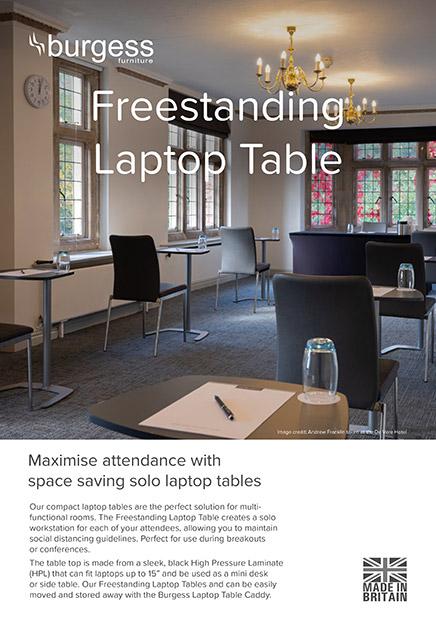Freestanding Laptop Table 2pp Brochure